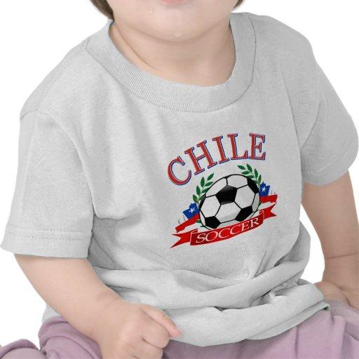 Chile soccer ball designs tshirt