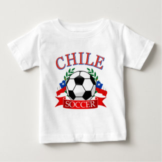 Chile soccer ball designs t-shirts