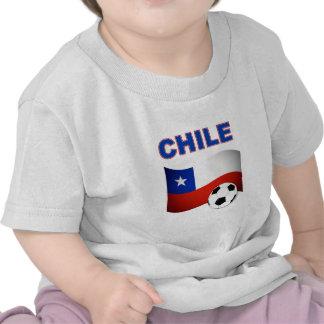 chile soccer football tee shirt