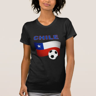 chile soccer football t-shirts