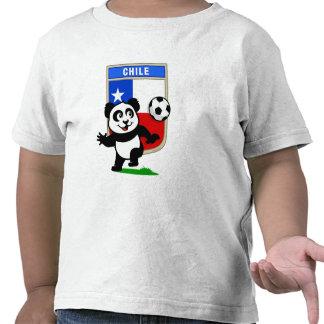 Chile Soccer Panda Tees