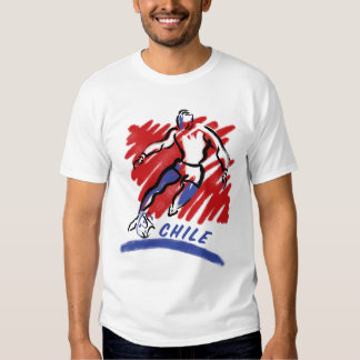 Chile Soccer Swoosh T-Shirts