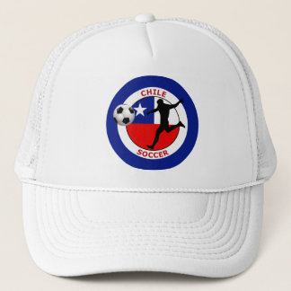 CHILE SOCCER TRUCKER HAT