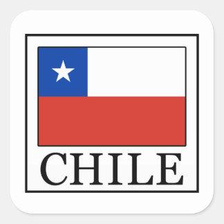 Chile Square Sticker