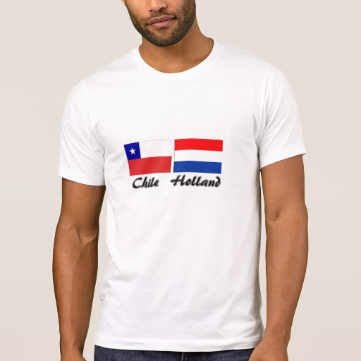 Chile the Netherlands flag shirt