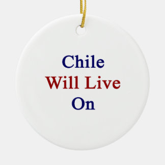 Chile Will Live On Christmas Ornaments