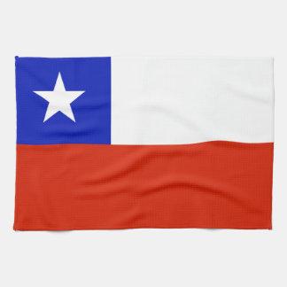Chilean Flag Hand Towels