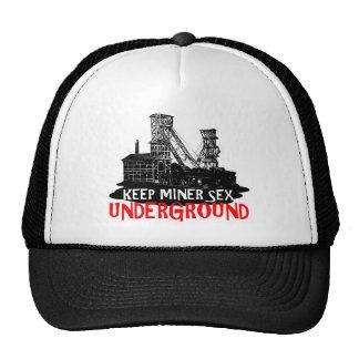 Chilean miner hat