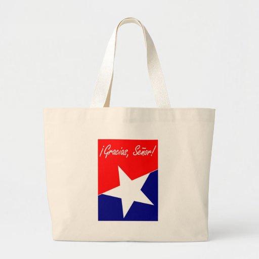 Chilean Miners Gracias, Señor! Tote Bags