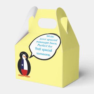 Chilean Talking Mr. Penguin Favour Box