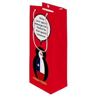 Chilean Talking Mr. Penguin Wine Gift Bag