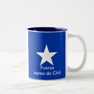 Chili Air Force, FuerzaAerea de Chili Two-Tone Mug
