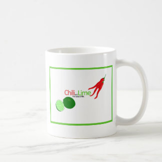 Chili and Lime Basic White Mug