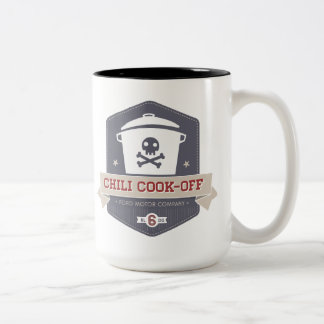 Chili Cook-Off coffee cup Two-Tone Mug