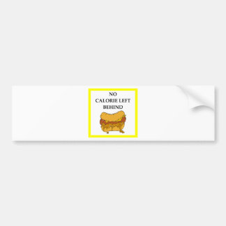 chili dog bumper sticker