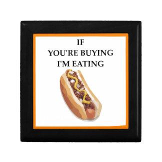 chili dog gift box