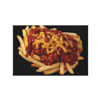 Chili Fries Canvas Prints