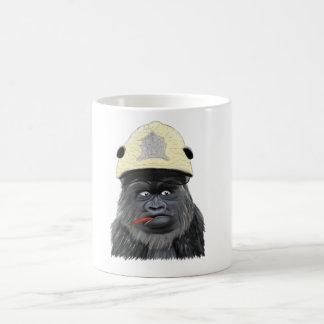 Chili gorilla basic white mug