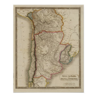 Chili, La Plata, Bolivia Poster