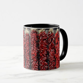 Chili Pepper Black 11 oz Combo Mug
