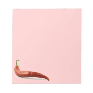Chili Pepper Notepad