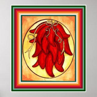 Chili Pepper Print