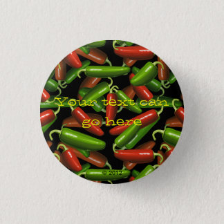 Chili Peppers 3 Cm Round Badge