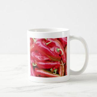Chili Peppers Basic White Mug