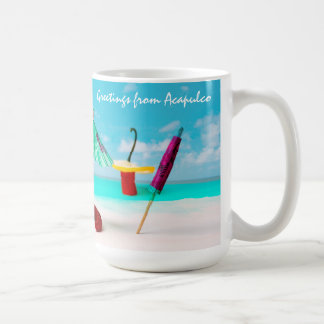 Chili Peppers By The Sea funny Coffee Mug
