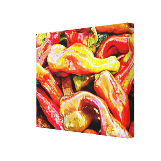 Chili Peppers Gallery Wrap Canvas