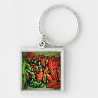 Chili Peppers Keychain