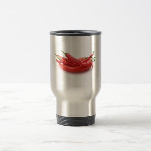 chili peppers coffee mugs