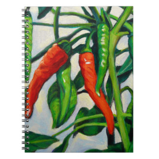 Chili Peppers Notebook