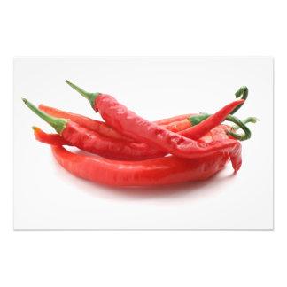 chili peppers photo print