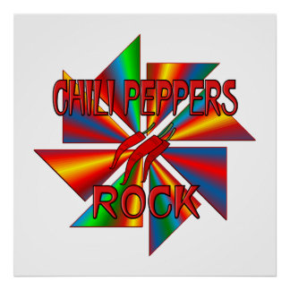 Chili Peppers Rock Posters