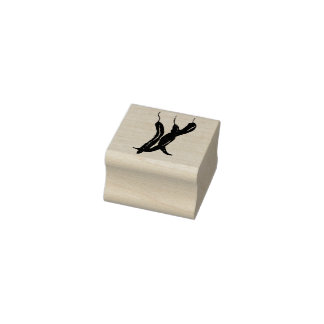 Chili Peppers Rubber Stamp