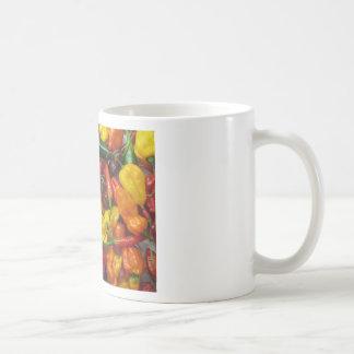 Chili Pile Basic White Mug