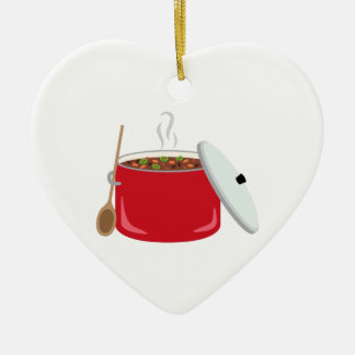 Chili Pot Ceramic Ornament