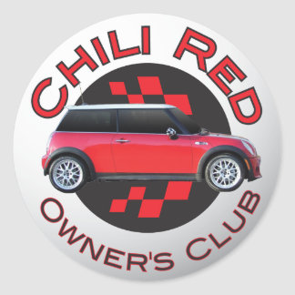 Chili Red Owner's Club sticker