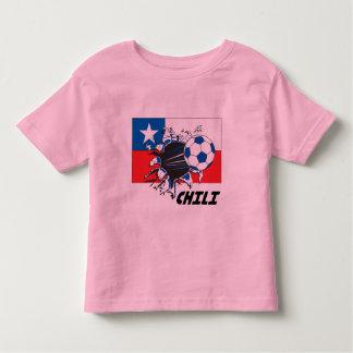Chili Soccer Fan gear Tee Shirts