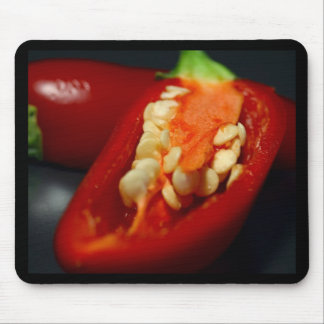 chilies-seeds,still-life mouse pad