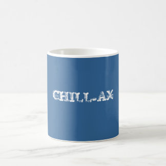 CHILL-AX BASIC WHITE MUG
