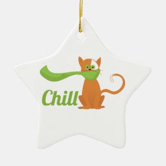 Chill Cat Ornaments