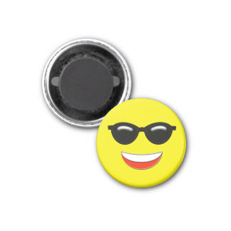 Chill Emoji Magnet