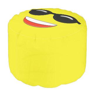 Chill Emoji Pouf