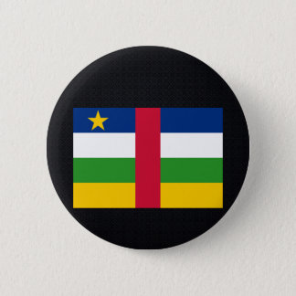 Chill Flag of Central African Republic 6 Cm Round Badge