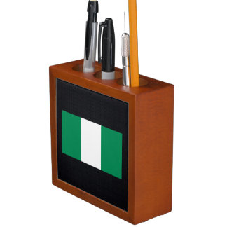 Chill Flag of Nigeria Desk Organiser