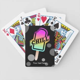 Chill Ice Block Bicycle Playing Cards