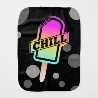 Chill Ice Lolly Burp Cloth