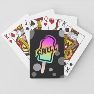 Chill Ice Lolly Playing Cards